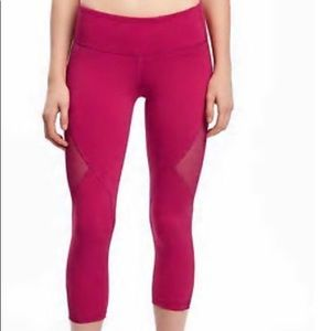 Old Navy Go-Dry Mid-Rise compression pants